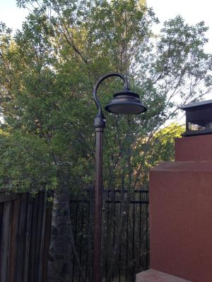 Residential Pole Lights Landscape Lighting